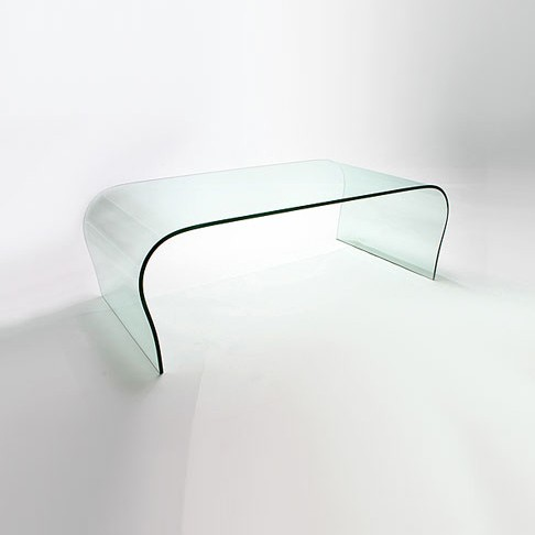 Curved Glass Coffee Table (CT041)